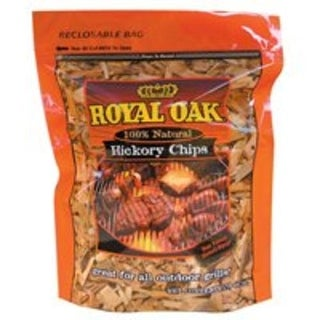 Royal Oak 199-300-095 Hickory Chips, All Natural, 2 Lb