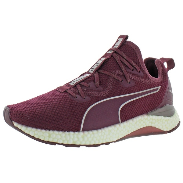 Puma Womens Hybrid Runner Luxe Running Shoes Trainers Knit - Fig- Puma  Black - 10.5 Medium (B,M)