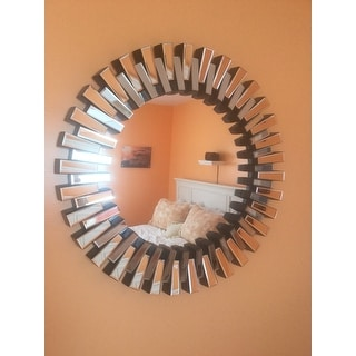Cienega Round Wall Mirror by Christopher Knight Home