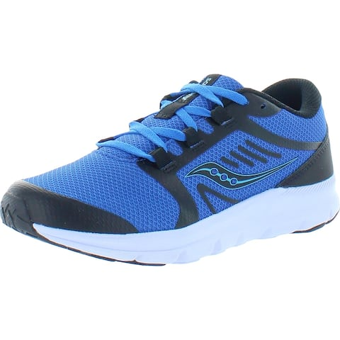 Saucony Boys S-Inferno Lite Walking Shoes Performance Workout - Black/Blue