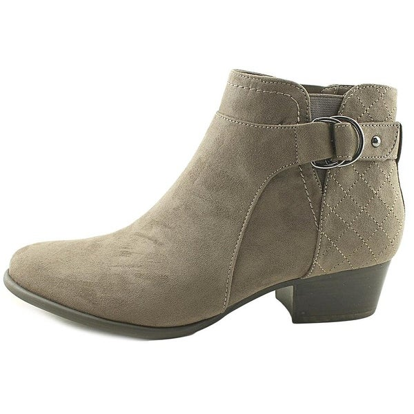 Unisa Womens Piera Suede Closed Toe Ankle Fashion Boots