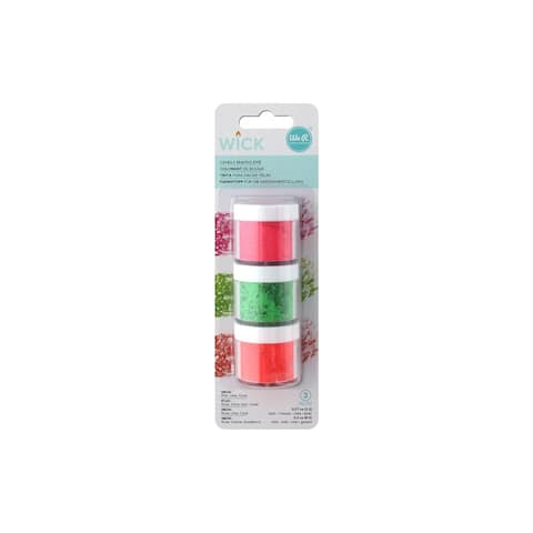 We R Memory Wick Candle Wax Dye 3pk Neon