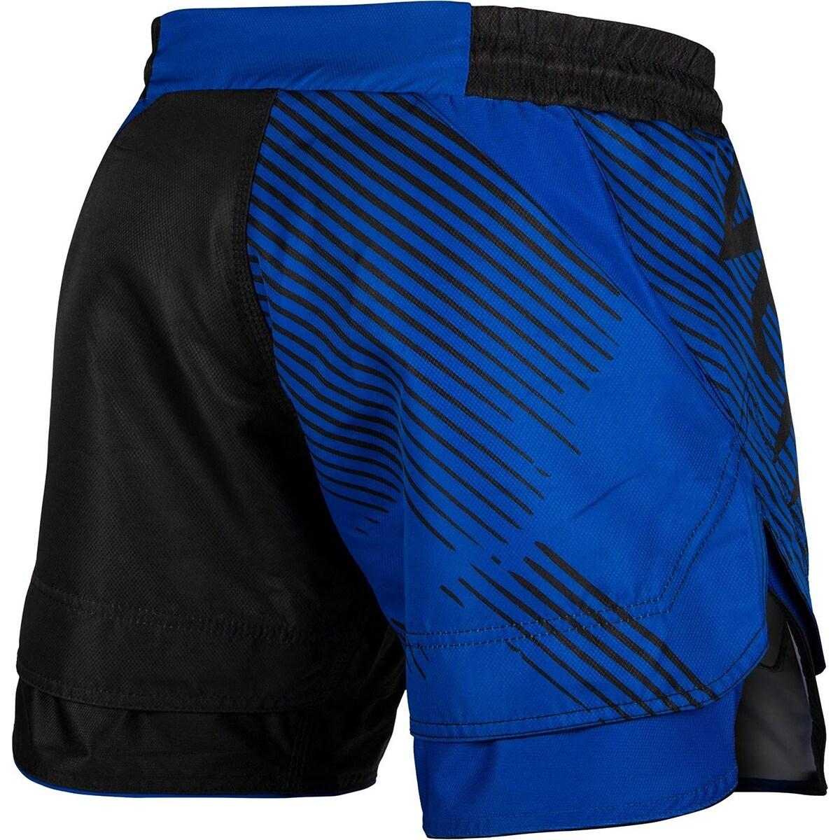 Venum MMA No Gi Black//Red Fight Shorts