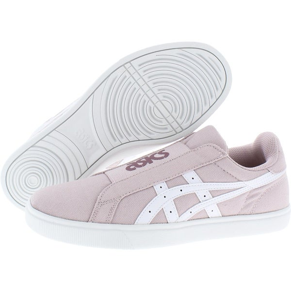 Asics Womens Classic CT Slip-On Sneakers Low Top Slip On - Watershed Rose/White