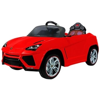 Costway 12V Lamborghini Urus Licensed Electric Kids Ride On Car Music RC Remote Control