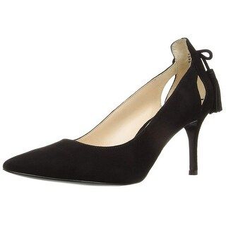 Nine West Womens Modesty Leather Pointed Toe Classic Pumps