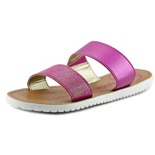 Jessica Simpson Aoki Youth Open Toe Synthetic Pink Slides Sandal