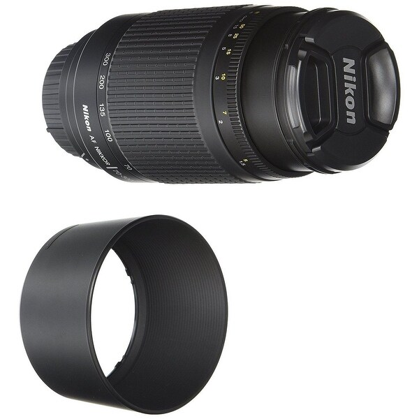 Nikon 70-300mm f/4-5.6g Zoom Lens with Auto Focus for Nikon DSLR Cameras - Black