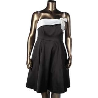 City Chic Womens Plus Derby Ready Cocktail Dress Tulle Bow-Front - xs|https://ak1.ostkcdn.com/images/products/is/images/direct/bceacff0fd102ce830138948beac412afa7513a0/City-Chic-Womens-Plus-Derby-Ready-Cocktail-Dress-Tulle-Bow-Front.jpg?impolicy=medium
