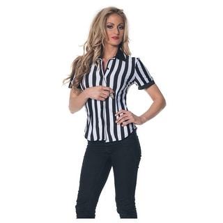 Women's Plus Size Referee Shirt