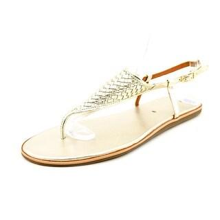 Via Spiga Aislin2 Open Toe Leather Thong Sandal