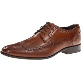 Bostonian Mens Alito Leather Brogue Oxfords - 9.5 wide (e)