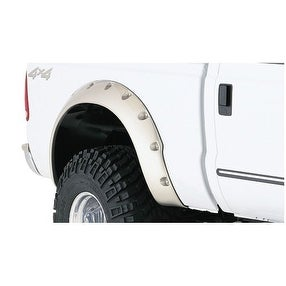 Bushwacker Ford Cut-Out Fender Flare Rear Pair - Black
