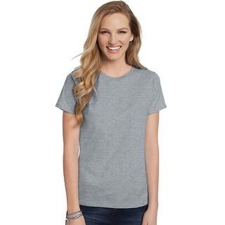 Hanes Women's Relaxed Fit Jersey ComfortSoft Crewneck T-Shirt