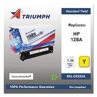 Triumph Remanufactured 128A Toner Cartridge - Yellow Toner Cartridge