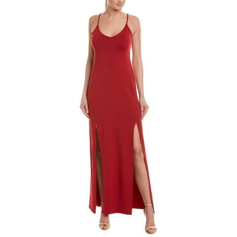 Susana Monaco Slit Maxi Dress