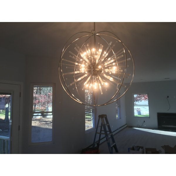 Elk lighting twilight polished chrome starburst 15 light pendant elk lighting twilight polished chrome starburst 15 light pendant free shipping today overstock 16753862 aloadofball Gallery