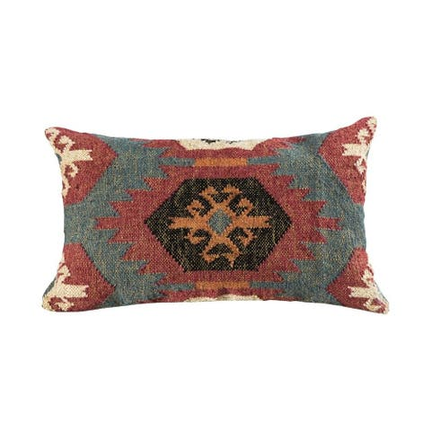 Rust and Earth Tone Pillow Cover 16x26-inch Pillow Cover Only Rust/Earth Tones Colors Rust/Earth