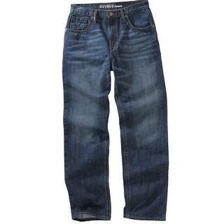 Cinch Western Denim Jeans Mens Garth Brooks Sanding Med HB50134001