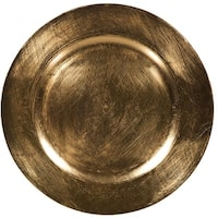 Palais Dinnerware Plaque De Charge Collection  13 Elegent Charger Plate 4 Classic Gold