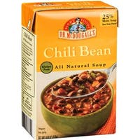 Dr. McDougall's Chili Bean All Natural Soup - Case of 6 - 18 oz.