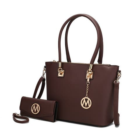 MKF Collection Vanessa Tote & Wallet Set by Mia K.