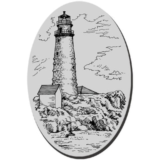 """Stampendous Cling Stamp 3.5""""X4"""" -Boston Lighthouse"""