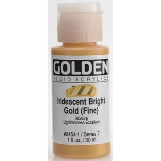 Golden - Iridescent Fluid Acrylic - 1 oz. - Iridescent Bronze