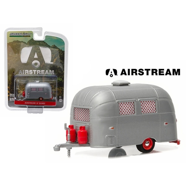 dcp//greenlight Airstream Bambi Sport black//silver new in box 1//64.