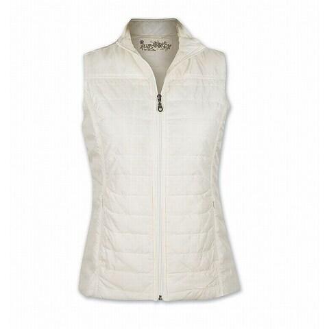 Aventura Whisper White Womens Size 2X Plus Sheila Vest Jacket