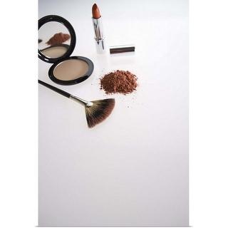 """Make-up brush"" Poster Print"