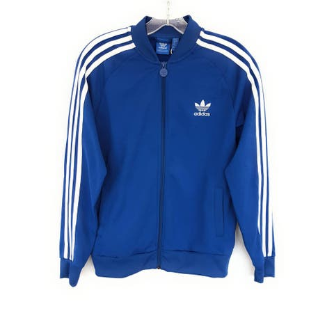 Adidas Junior Training Jacket , Blue, 13-14Y
