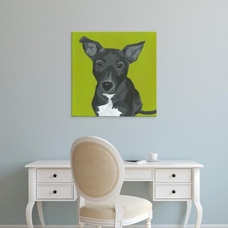 Easy Art Prints June Erica Vess's 'Daisy' Premium Canvas Art