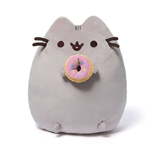 GUND Pusheen Snackable Donut Plush Stuffed Animal