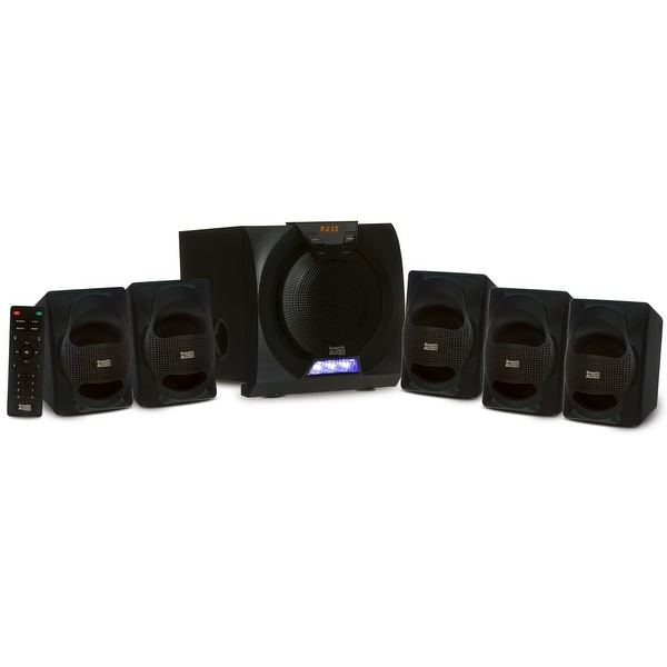Acoustic Audio AA5230 Home Theater 5.1 Bluetooth Speaker System and LED Display