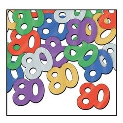 Fanci-Fetti 80 Silhouettes (multi-color) Party Accessory (1 count) (.5 Oz/Pkg)
