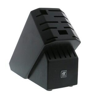 ZWILLING Pro Rubberwood 16-slot Knife Block - Black