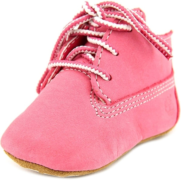 Timberland 9680R Infant Round Toe Synthetic Pink Boot
