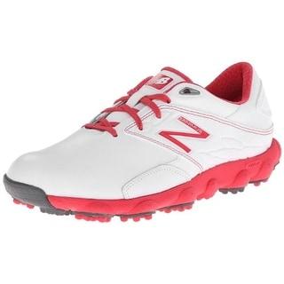 New Balance Womens Minimus LX Golf Shoes Leather Waterproof - 10 medium (b,m)