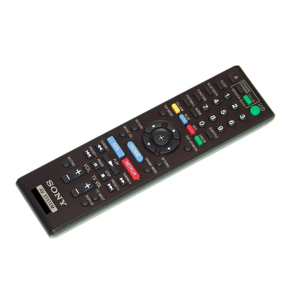 OEM Sony Remote Control Originally Supplied With: BDVE2100, BDV-E2100, BDVE3100, BDV-E3100