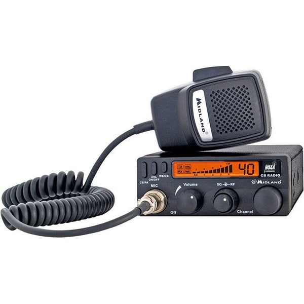 Midland 40 Channel Mobile Cb With Anl Rf Gain Pa And Weather Scan