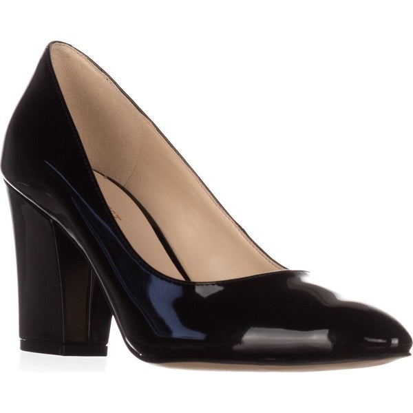 Nine West Scheila Classic Pumps, Black Synthetic