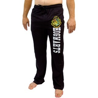 Harry Potter All Houses And Hogwarts Crest Men's Pajama Pants - 5 Styles (More options available)
