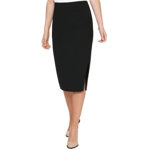 Dkny Womens Knit Midi Pencil Dress