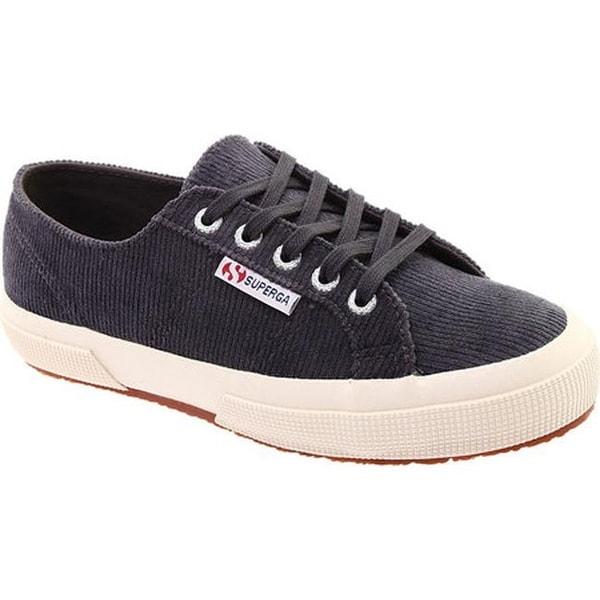 2cb934bef6d Shop Superga Women s 2750 Corduroy Sneaker Grey Corduroy - On Sale ...