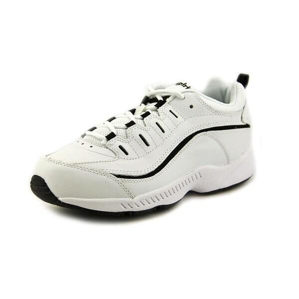 1aaadf2b1ab0 Shop Easy Spirit Romy Women N S Round Toe Leather White Walking Shoe ...
