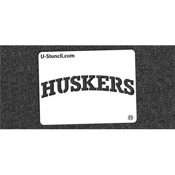 shop ncaa nebraska cornhuskers collegiate huskers mini stencil kit