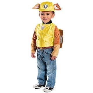 Boys Paw Patrol Rubble Halloween Costume