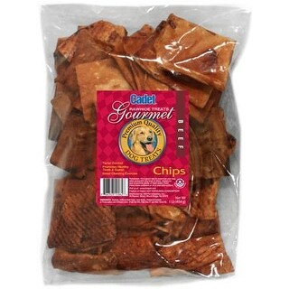 Cadet Beef Rawhide Chips 1 Pound Bag