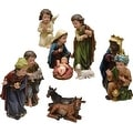 11-Piece Inspirational Religious Children's First Christmas Table Top Nativity Set - Thumbnail 0